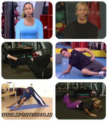 تمرینات کامل در خانه - 5 تمرین مختلف