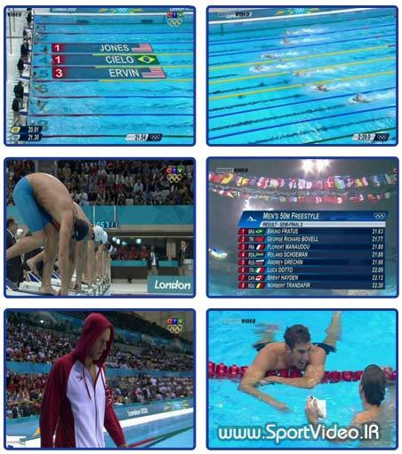 مسابقات شنای مردان المپیک ۲۰۱۲ لندن