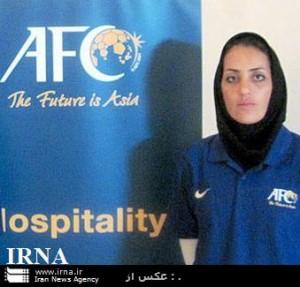 قضاوت داور و کمک داور زن ایرانی در رقابتهای قهرمانی آسیا