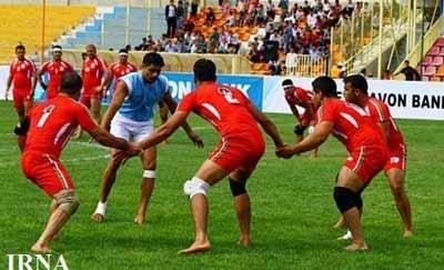 برتری تیم ملی سرکل کبدی ایران برابر کنیا