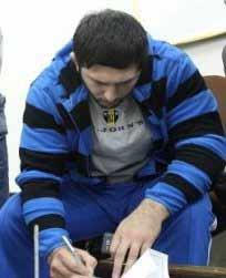 نایب قهرمان وزن 120 کیلوگرم کشتی المپیک لندن به فولاد ماهان پیوست