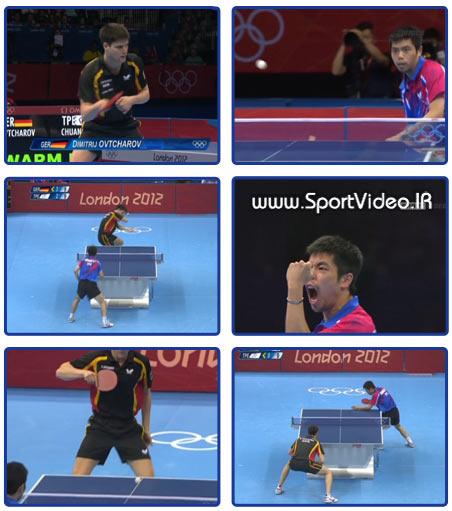 مسابقه نیمه نهایی تنیس روی میز انفرادی مردان –- المپیک ۲۰۱۲ لند