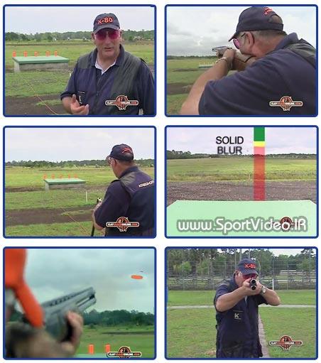 آموزش تیراندازی اهداف پروازیتراپ