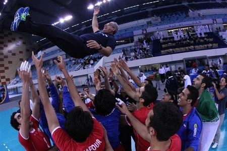 راهیابی والیبال ایران به مسابقات بین قاره ای