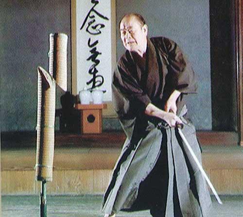 آزمون برش با شمشیر ژاپنی