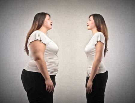 چاق و لاغر