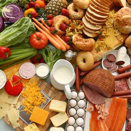 نقش مواد غذایی در پرورش اندام