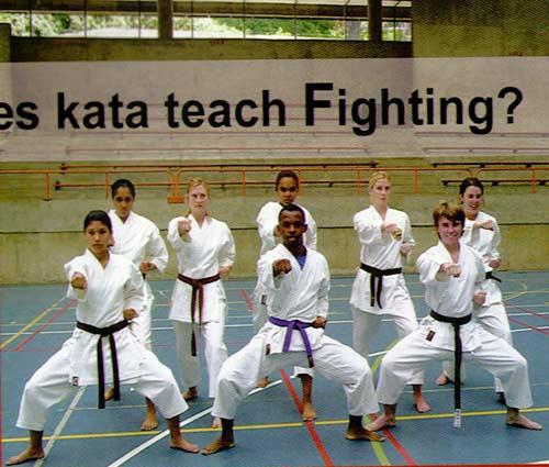 آیا کاتا روش مبارزه را آموزش می دهد؟