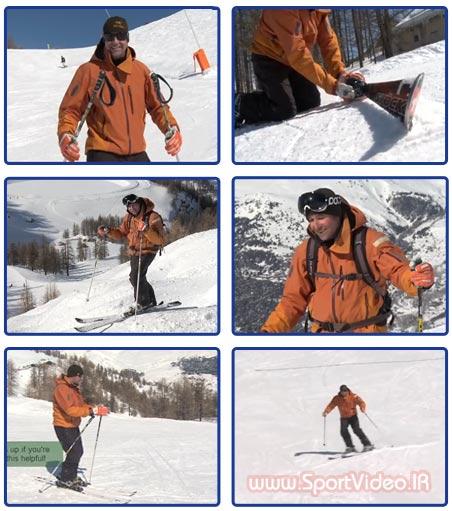 آموزش اسکی آلپاین پیشرفته