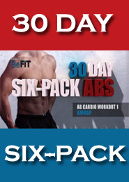 تمرینات ۳۰ روزه ۶ تکه نمودن شکم – ویژه آقایان و خانمها