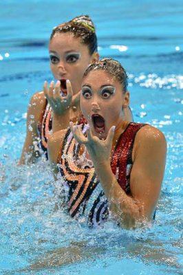 شنای موزون